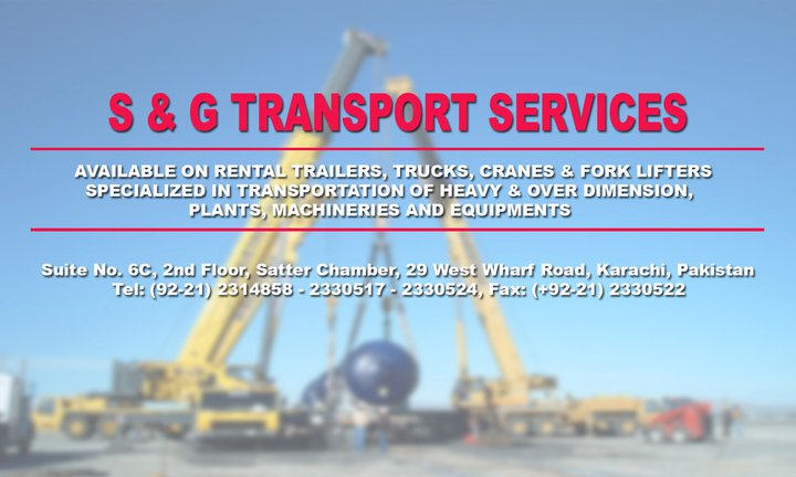 S & G. TRANSPORT SERVICES